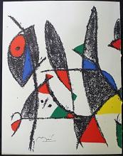 Original Lithograph By Joan Miro (6ZM)