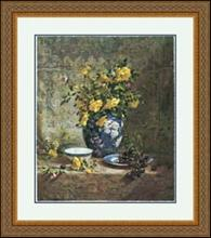 YELLOW ROSES BY DEL GISH