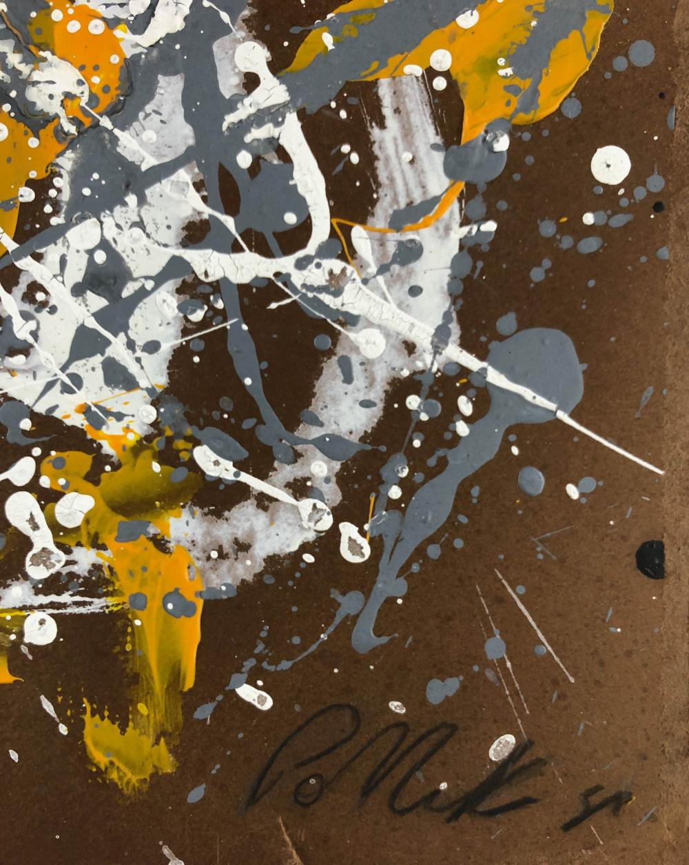 jackson pollocks career essay So i gave up the notion of a career  greenberg saw his first show by jackson  pollock in 1943, and was drawn to abstract -- a term coined by  in his collection  of essays entitled art and culture, generally acknowledged a.