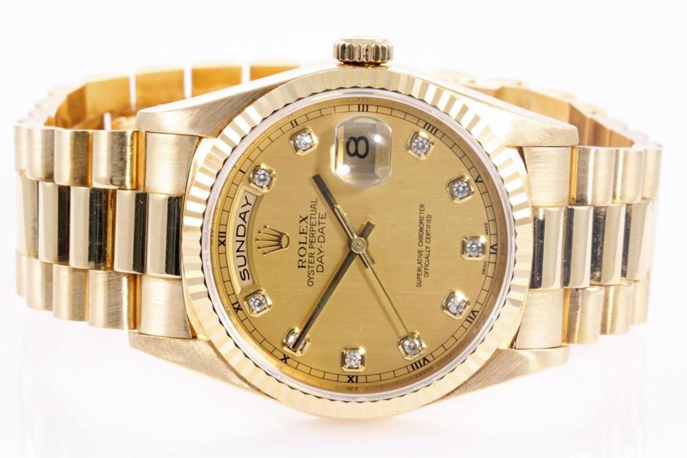 53d7286513d Rolex 18ct Gold Day-Date Mens Watch 18238G