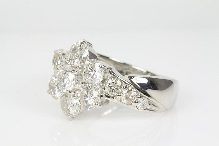Round Diamond Dress Ring 3.00cts
