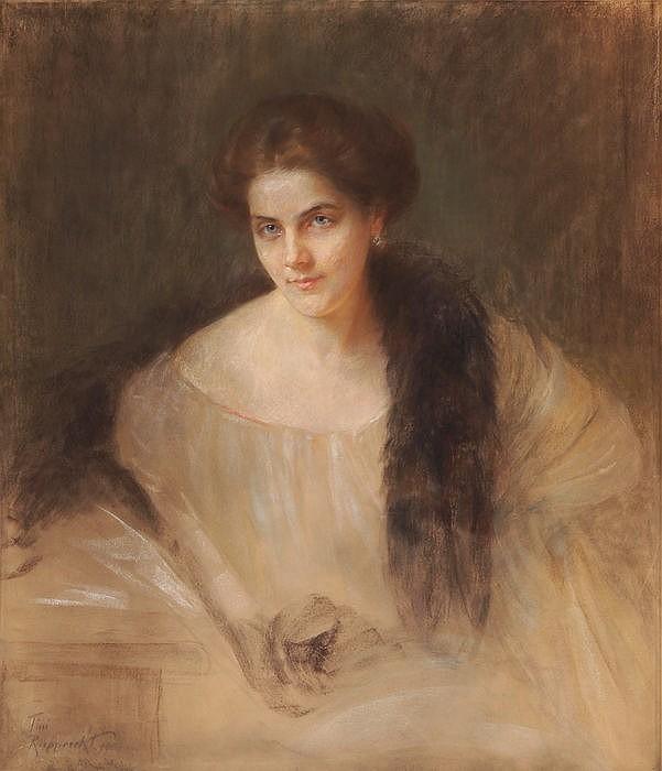 Portrait Baronin Ingeborg von Oldershausen