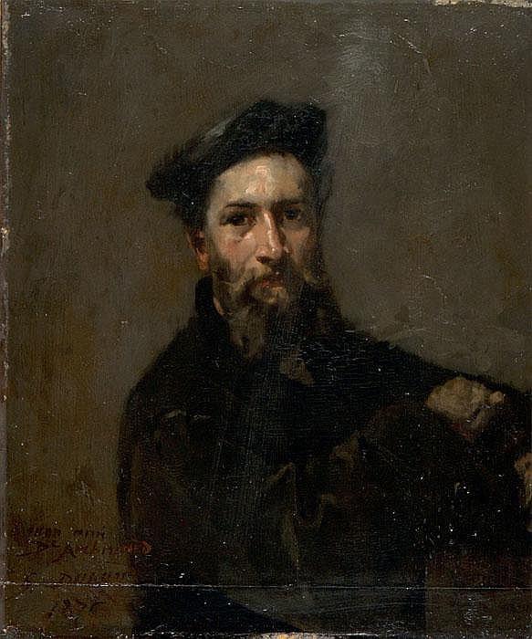 SIMON DURAND  Herrenporträt