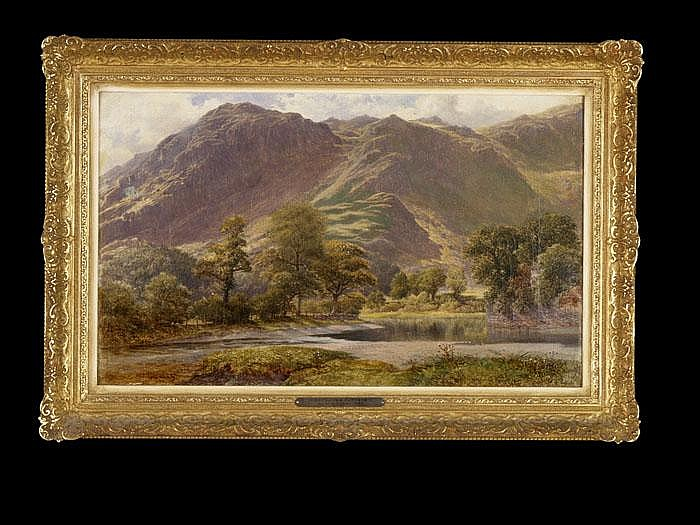 WILLIAM HAROLD CUBLEY  In Borrowdale, Cumberlard
