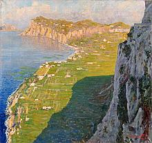 Ansicht der Küste von Capri