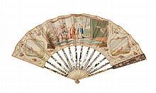 Faltfächer, Frankreich, um 1800