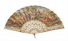 Faltfächer, Frankreich, um 1870