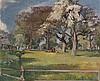 Wiesenlandschaft im Frühling, Nanette Genoud, Click for value