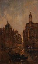 EDOUARD-JACQUES DUFEU, Marseille 1840-1900 Grasse, Ansicht in Venedig
