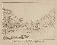 JOSEF FRANZ XAVER LEONTIUS TRINER, Arth 1767-1824 Bürglen, Bolzbach avec la Vue sur la Chapelle de Guillaume Tell