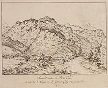 JOSEF FRANZ XAVER LEONTIUS TRINER, Arth 1767-1824 Bürglen, Reinacht contre le Boki Tobel