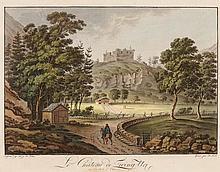 JOSEF FRANZ XAVER LEONTIUS TRINER, Arth 1767-1824 Bürglen, Le Chateau de Zwing Uri