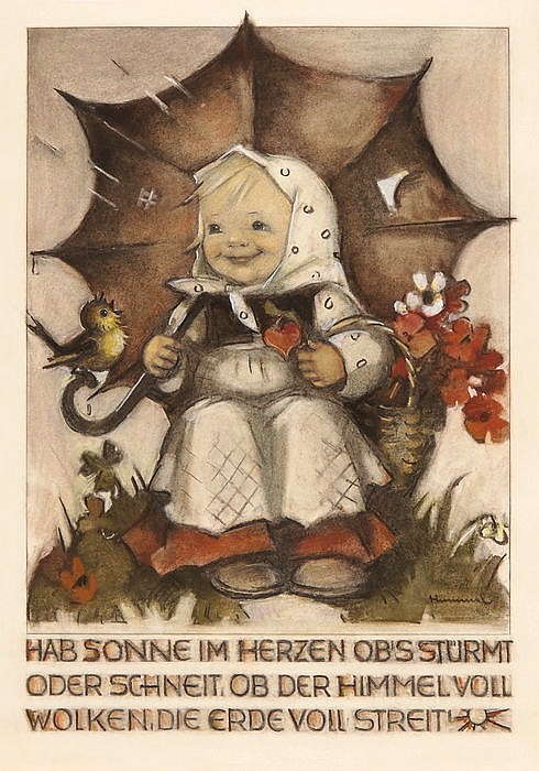 MARIA INNOCENTIA HUMMEL, Massing 1909-1946 Siessen, Hab Sonne im Herzen (...)