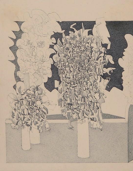 PHILIPPE SCHIBIG, Genf 1940-2013 Kriens, Bäume