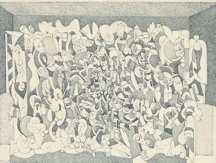 PHILIPPE SCHIBIG, Genf 1940-2013 Kriens, Ohne Titel