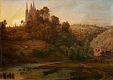Blick auf den Dom von Limburg