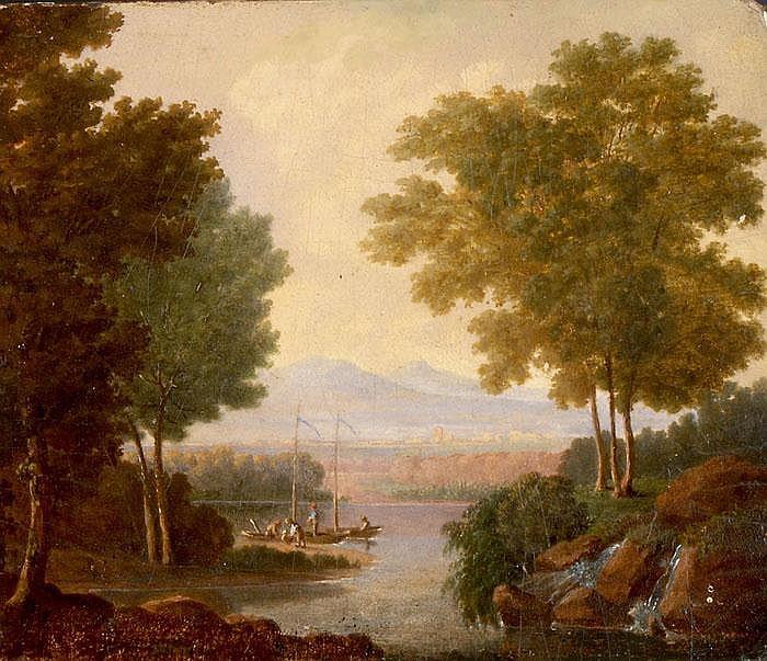 Seelandschaft bei Morillon