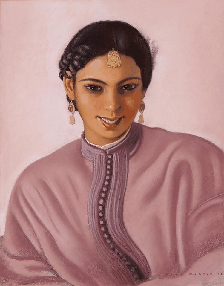 RENÉ MARTIN - Junge Marokkanerin