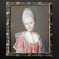 JEAN-LAURENT MOSNIER - Bildnis einer Adeligen