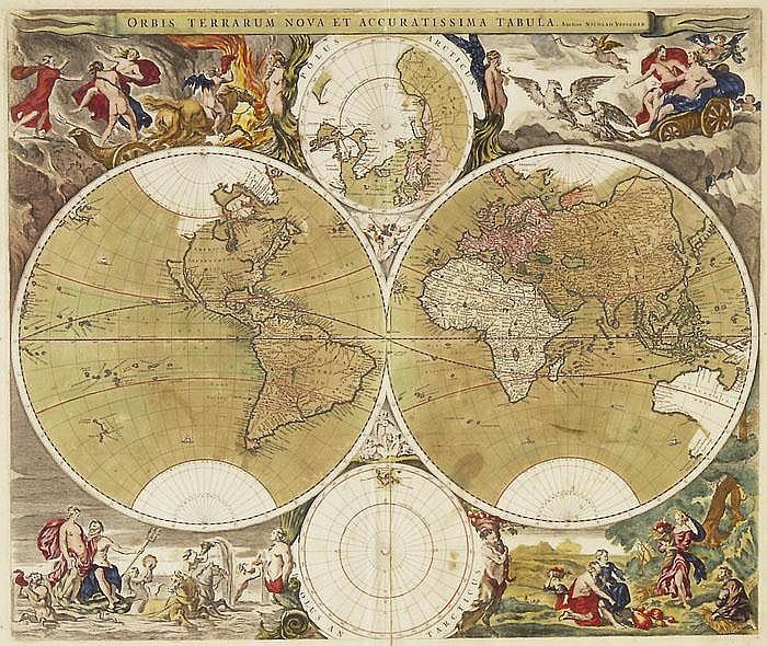 Orbis terrarum nova et accuratissima tabula