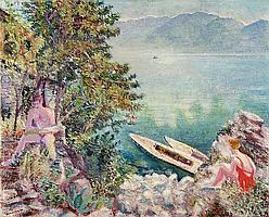 Sommer am Lago Maggiore - Ruhiger Morgen