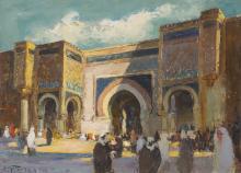 ADOLF BEHRMANN - Meknes