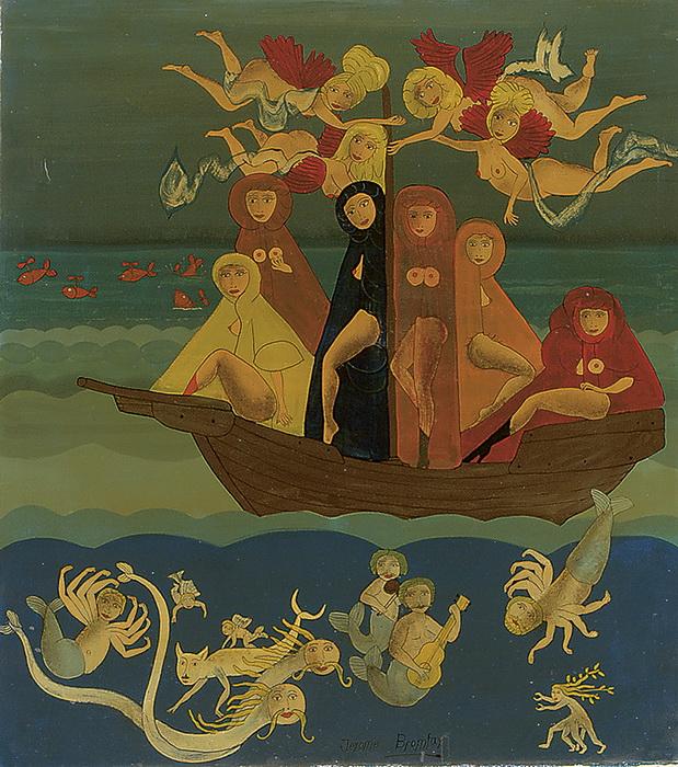 JÉRÔME BROMFAY - L'arrivée des Saintes