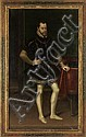 ALONSO SANCHEZ COELLO  König Philipp II. von Spanien (1527-1598) in ganzer Figur, um 1570, Alonso Sanchez Coello, Click for value
