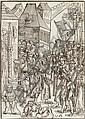 URS GRAF  Zwei Blatt aus der Folge Passio domini Jesu Christi, Urs Graf, Click for value