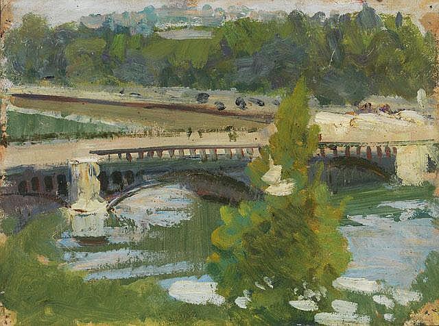 BORIS VLADIMIROVICH IOGANSON  Brücke über die Seine