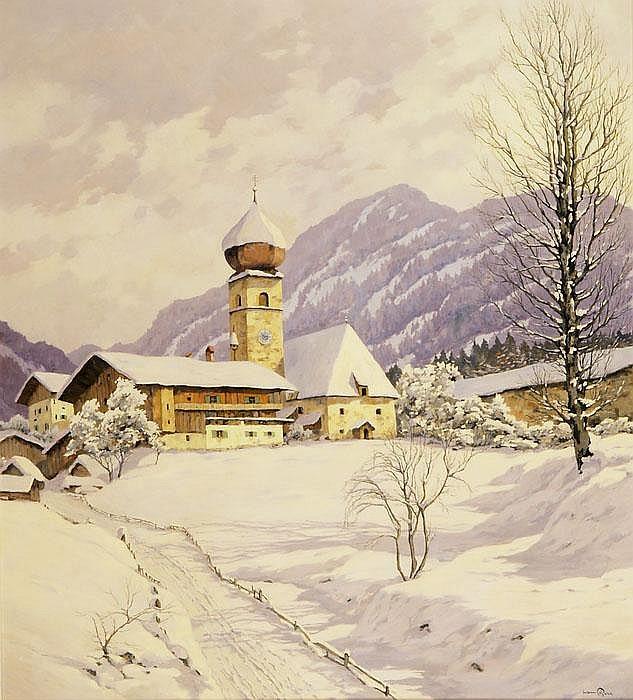HANS FIGURA  Aurach bei Kitzbühel