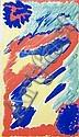 NELL (ANNA CHARLOTTA) WALDEN  Komposition in Rot, Blau, Gelb und Grün, Nell Walden, Click for value