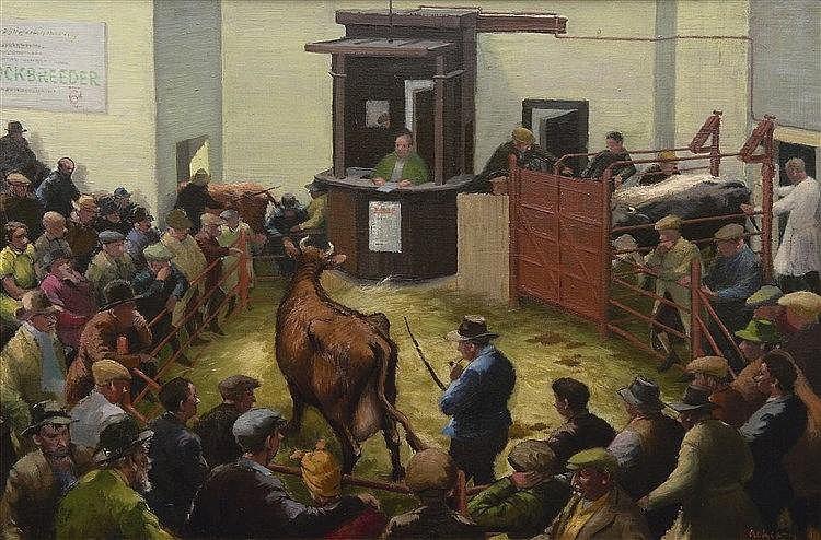 Alice Stanley Acheson Charlevoix MI (United States) 1895-1996 Washington DC The cattle ring