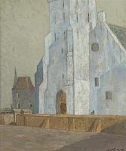 Johann Christoph 'Johan' Windhorst Schiedam 1884-1970 Rheden The Andreaskerk, Katwijk aan Zee