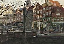 'Dirk' Johannes van Haaren Amsterdam 1878-1953 Prinsengracht, Amsterdam