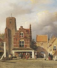 Johannes 'Jan' Weissenbruch   The Hague 1822-1880
