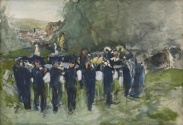 Anthon Gerhard Alexander Ridder van Rappard   Zeist 1858-1892 Santpoort