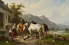 Wouterus Verschuur   Amsterdam 1812-1874 Vorden