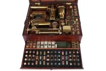 An Exceptionally Fine Jones Improved & Solar Microscope Compendium,