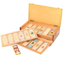 A Microscope Mineral Slide Collection,