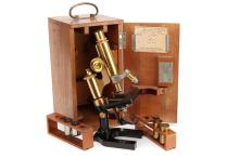 A Leitz Microscope,