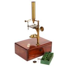 A Good Charles Chevalier Compound & Simple Microscope,