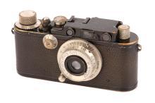 A Leica II Rangefinder Camera,