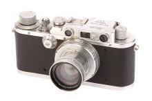 A Leica III Rangefinder Camera,