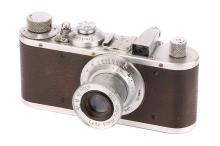 A Leica Standard Model E Camera,