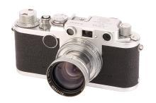 A Leica IIf Rangefinder Camera,