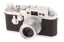 A Leica IIIg Rangefinder Camera,