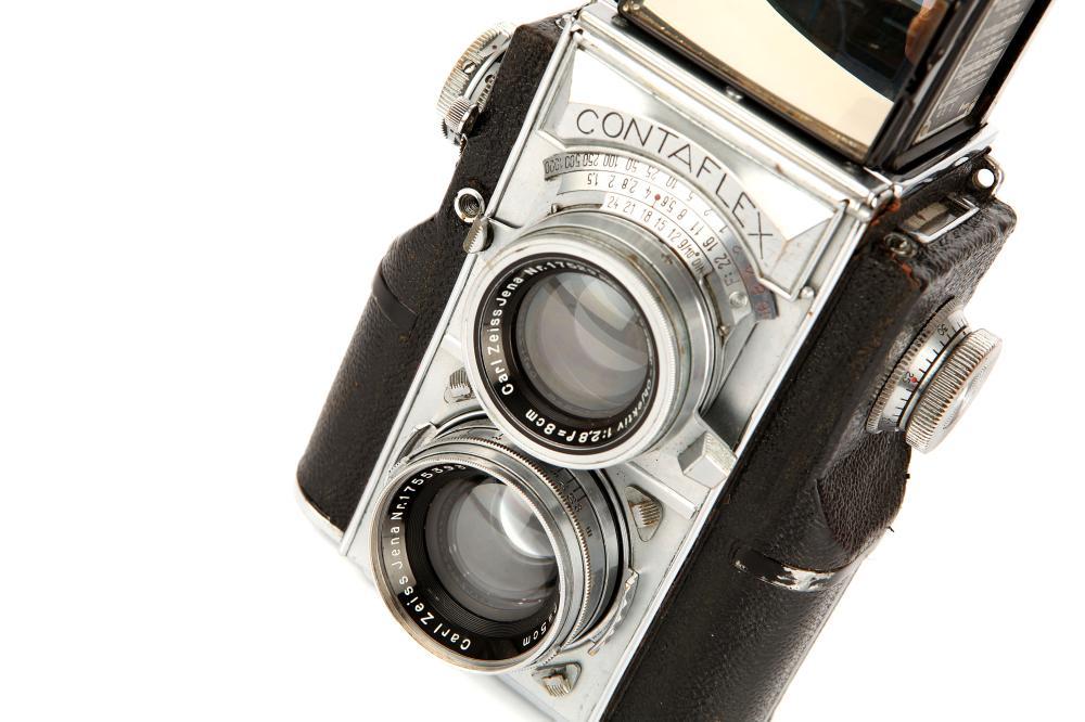 A Zeiss Ikon Contaflex TLR Camera,