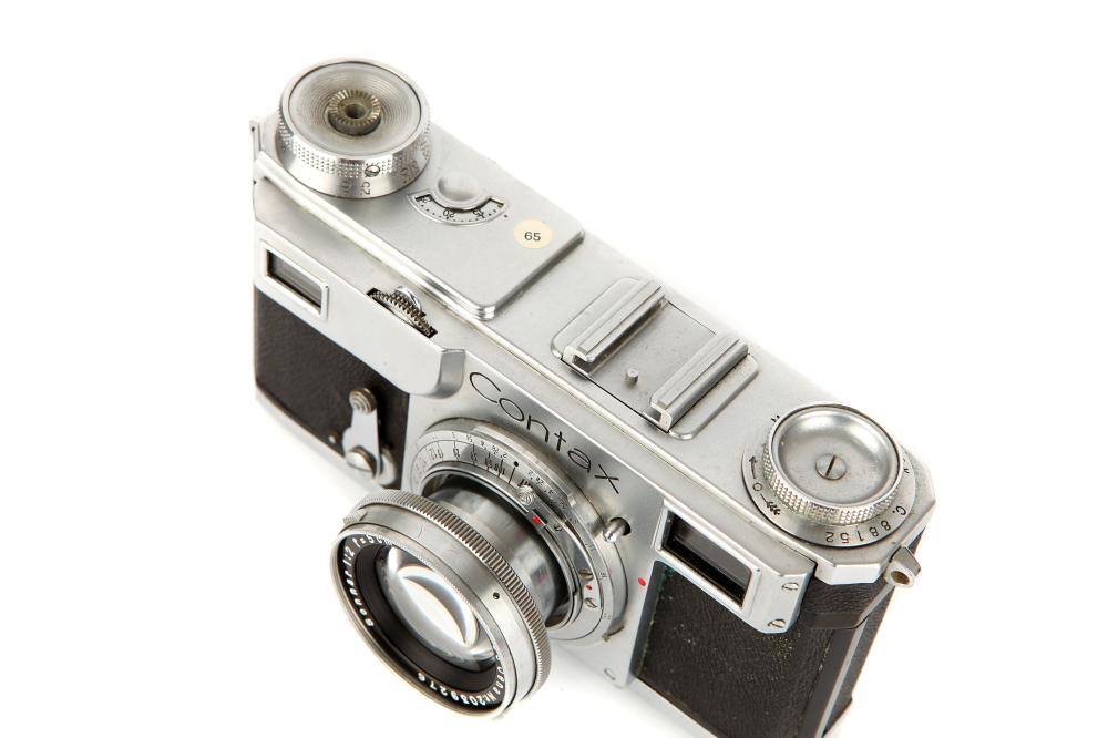 A Zeiss Ikon Contax II Rangefinder Camera,