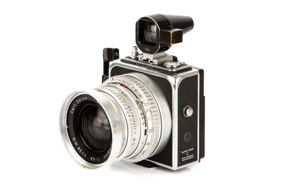 A Hasselblad SWC Medium Format Camera,
